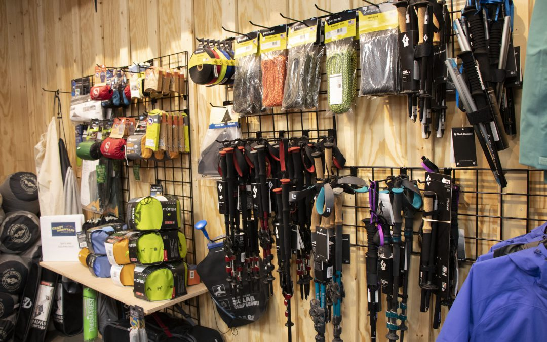 Snowshoes and Trail Equipment